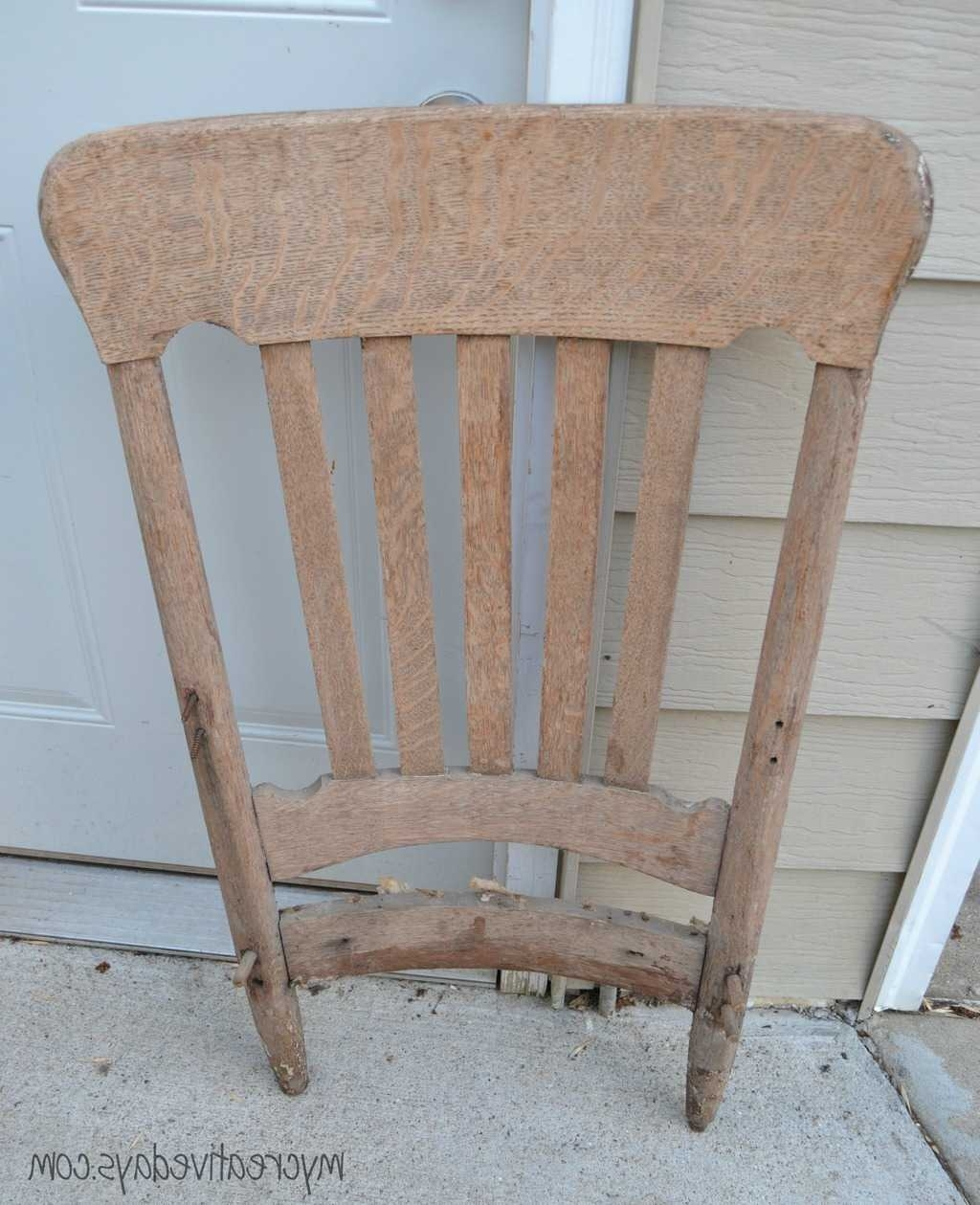 Upcycled Rocking Chairs With Widely Used Diy Rocking Chair Upcycle Tutorial – My Creative Days (View 15 of 15)