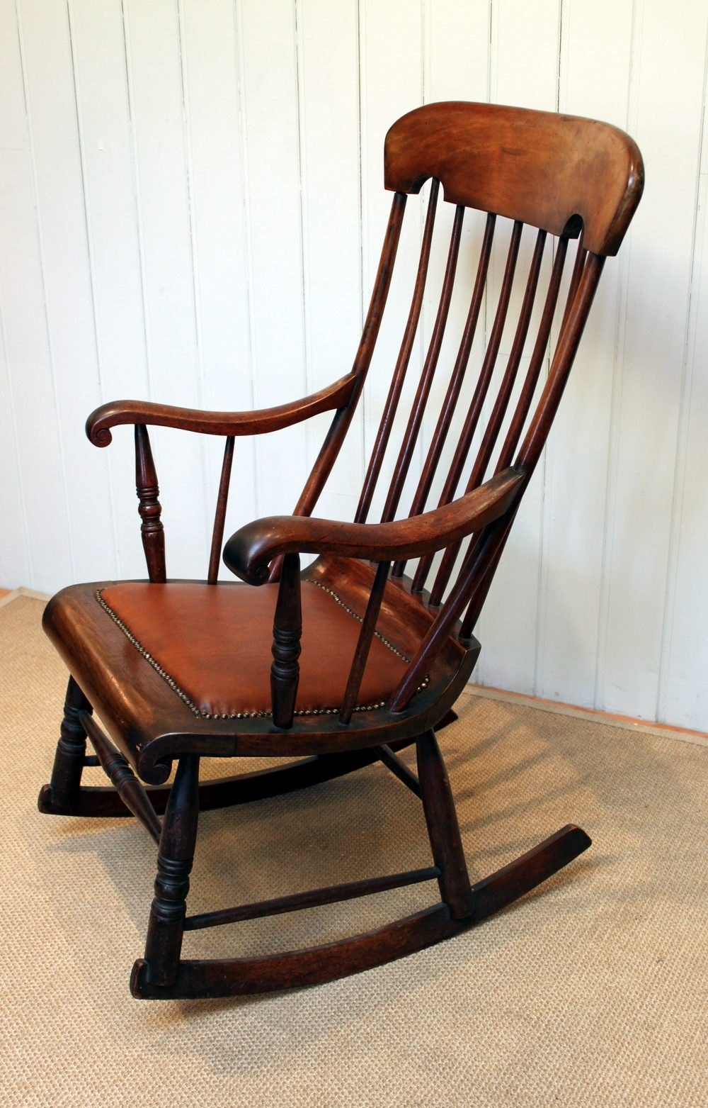 Victorian Fruitwood Rocking Chair - Antiques Atlas for 2017 Victorian Rocking Chairs