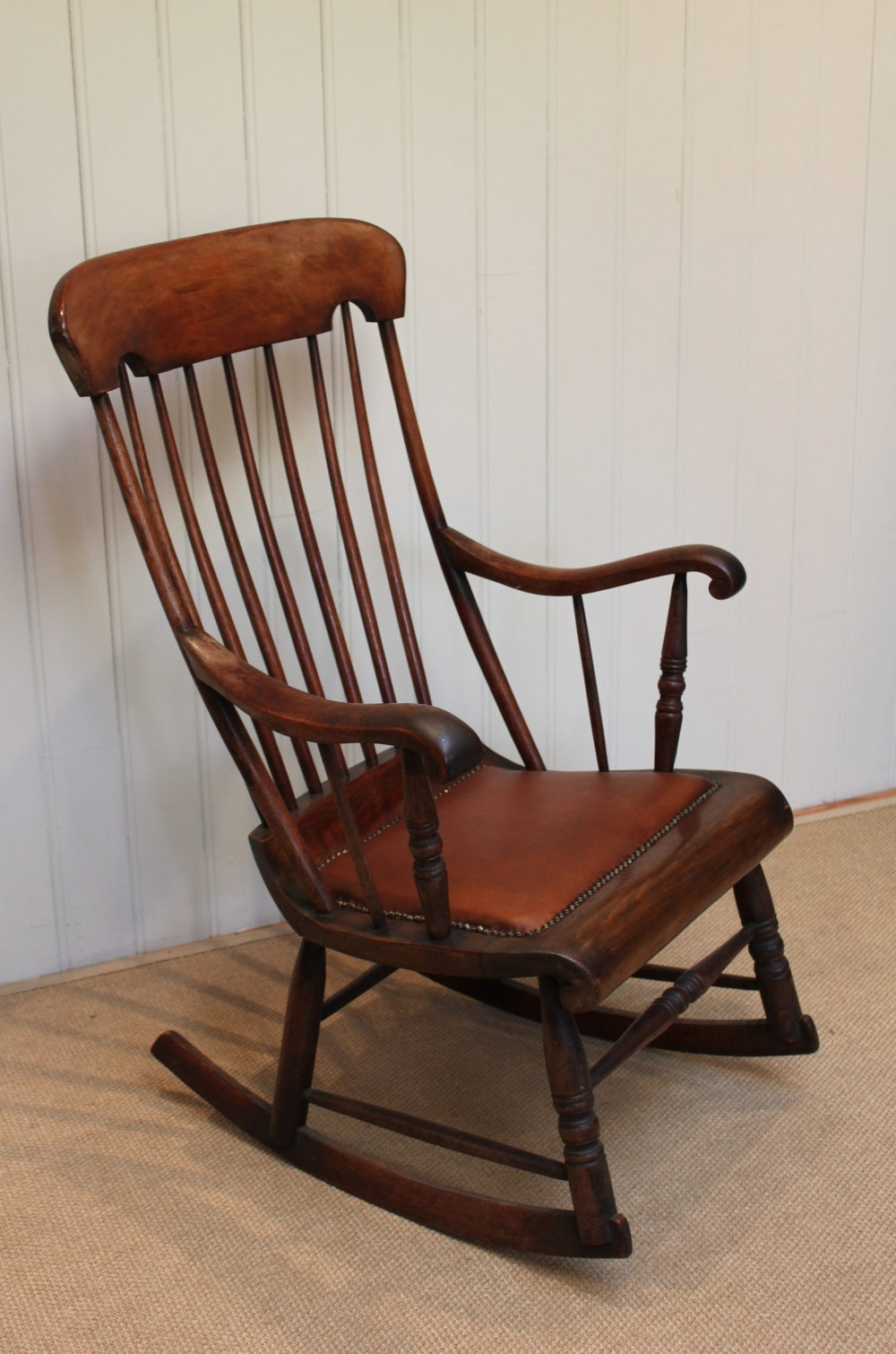 Victorian Fruitwood Rocking Chair - Antiques Atlas with Latest Victorian Rocking Chairs