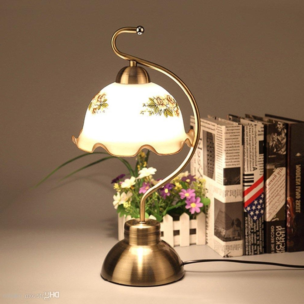 Vintage Living Room Table Lamps Pertaining To Trendy 2018 Bronze Metal Study Room Table Lights European Vintage Living (Gallery 11 of 15)