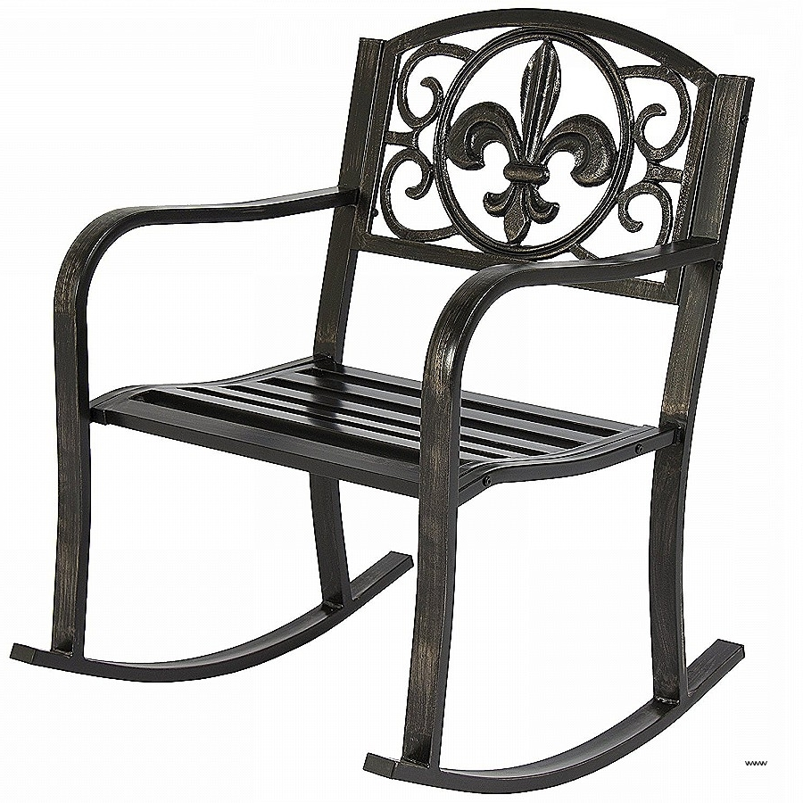 Vintage Metal Outdoor Rocking Chairs Luxury Patio Rocking Chairs Throughout Newest Vintage Outdoor Rocking Chairs (View 11 of 15)