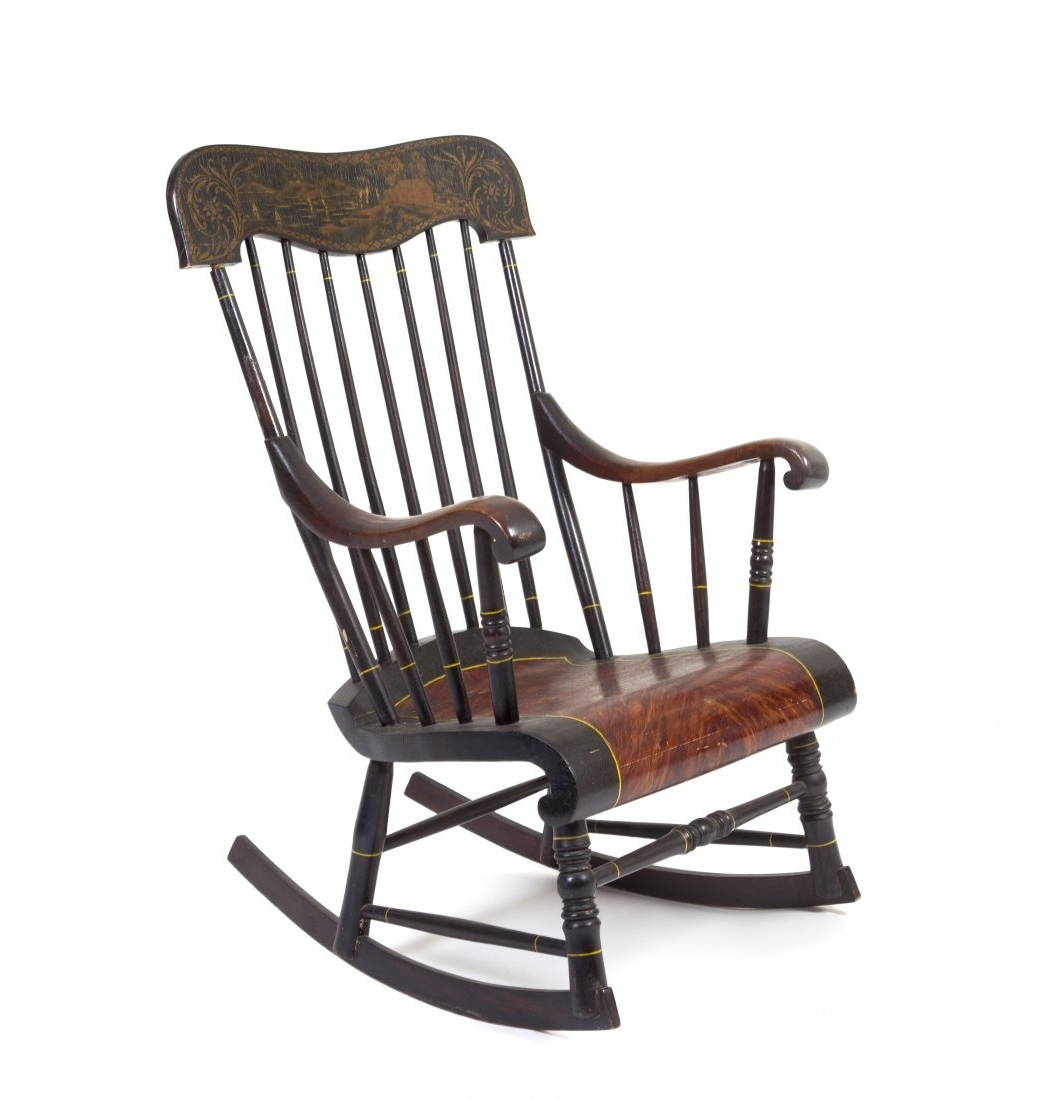 Vintage Outdoor Rocking Chairs with regard to Newest Garden & Patio Furniture : Outdoor Wooden Rocking Chairs New Chairs