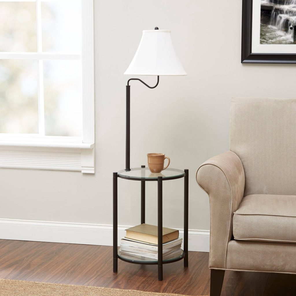 Walmart Living Room Table Lamps Regarding Best And Newest Nightstands : Walmart Round Table Living Room Walmart Bedroom Lamps (View 12 of 15)