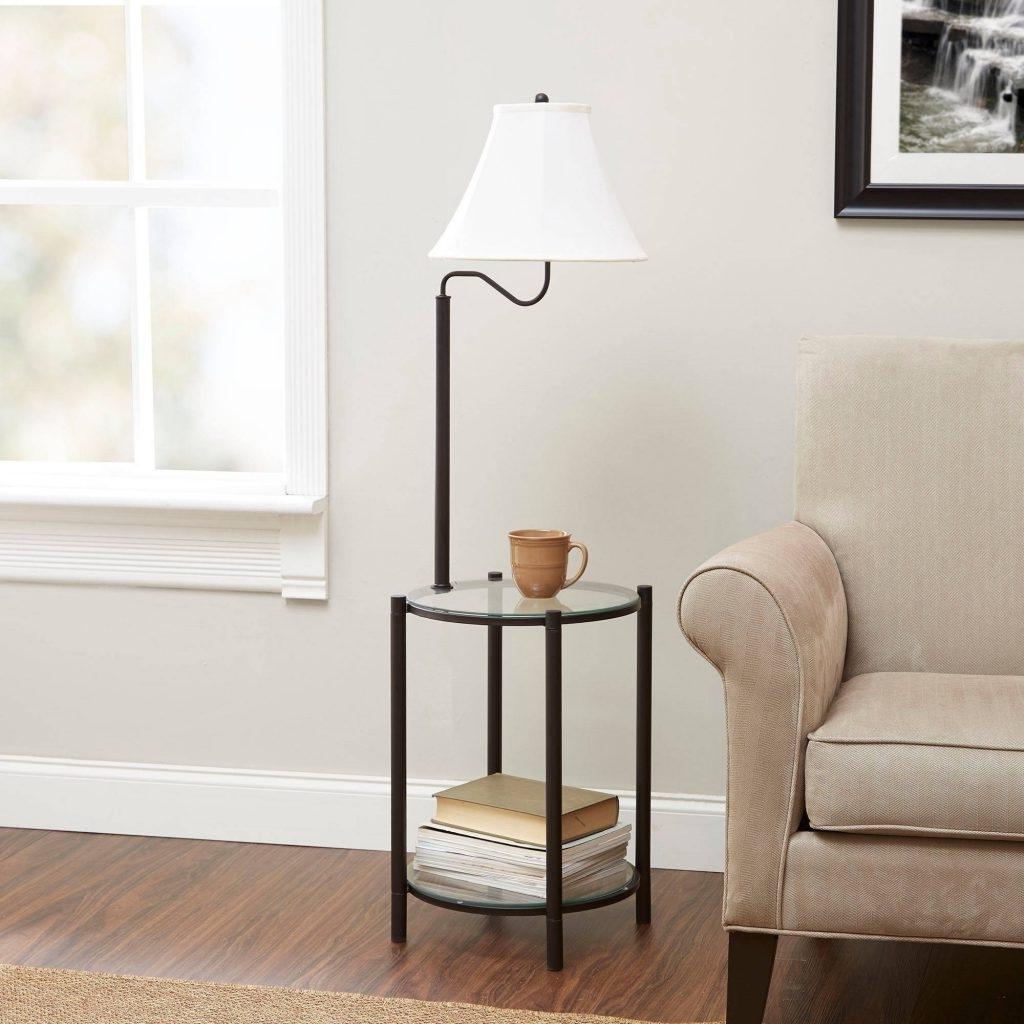 Walmart Living Room Table Lamps Regarding Best And Newest Nightstands : Walmart Round Table Living Room Walmart Bedroom Lamps (View 8 of 15)