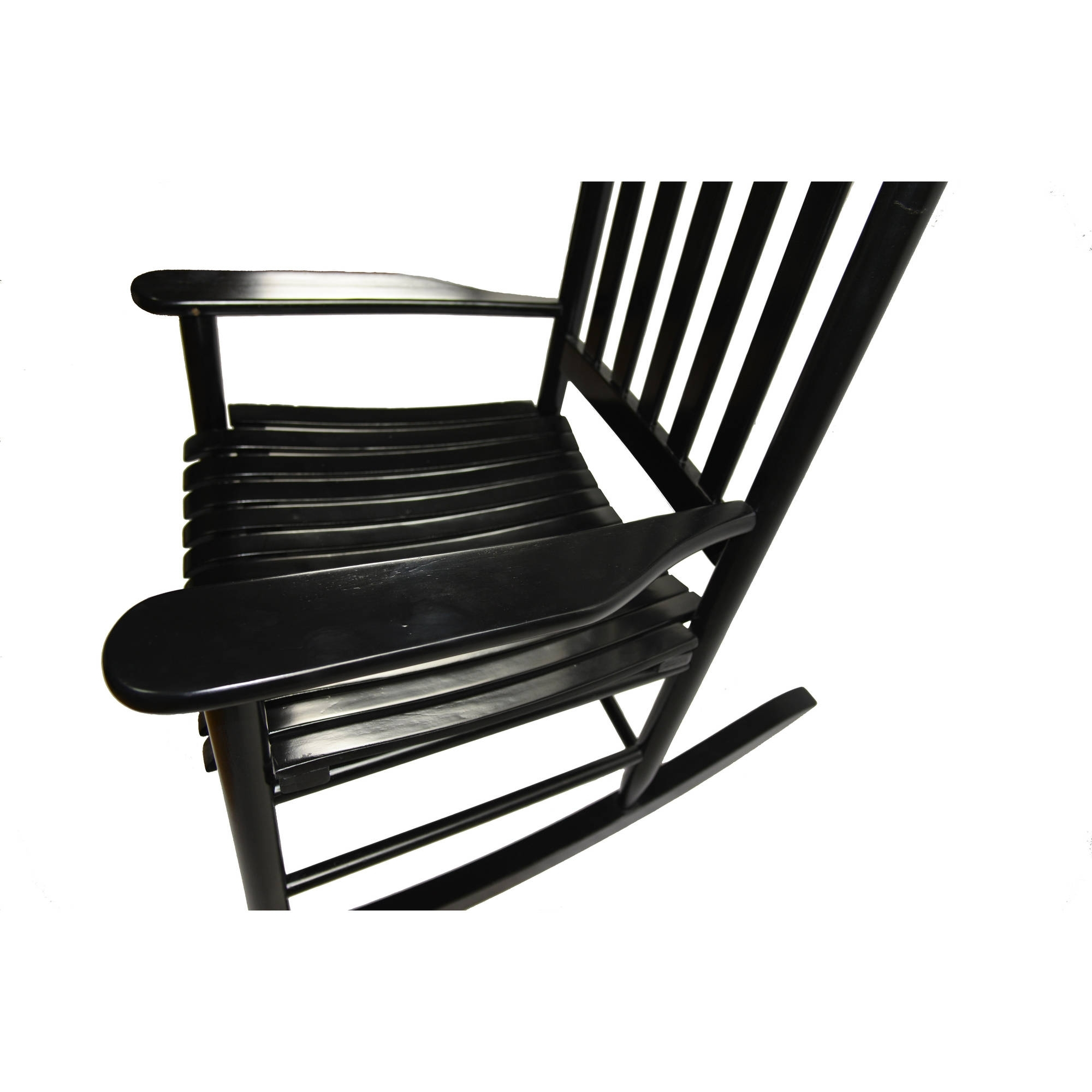 Walmart Rocking Chairs Within Current Mainstays Outdoor Wood Rocking Chair – Walmart (View 13 of 15)
