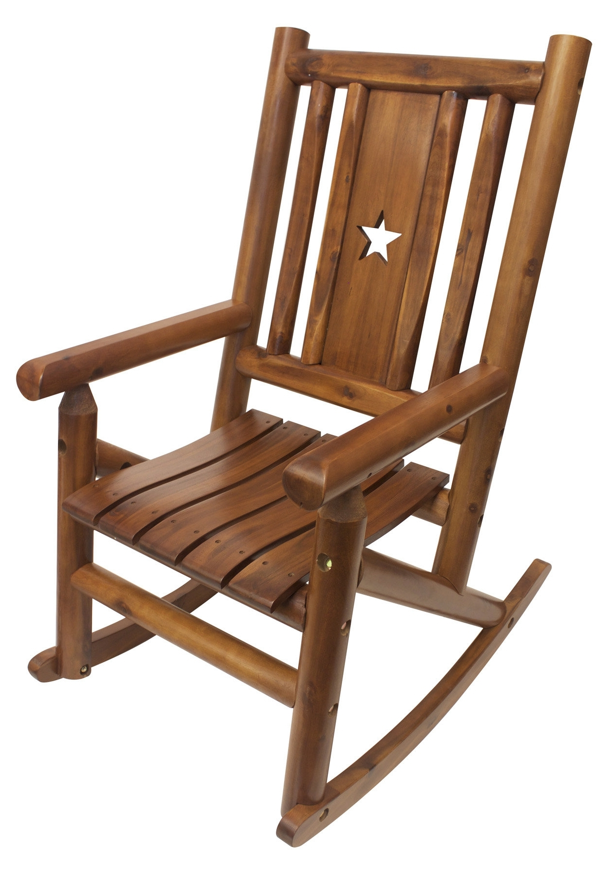 Wayfair For Char Log Patio Rocking Chairs With Star (View 14 of 15)