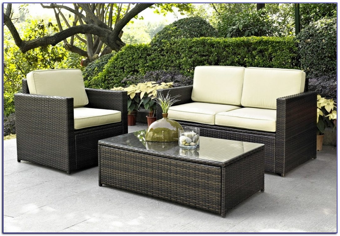 Wayfair Outdoor Patio Conversation Sets Pertaining To Preferred Patio Furniture Clearance Ontario Canada With Plus Cushions Together (View 9 of 15)