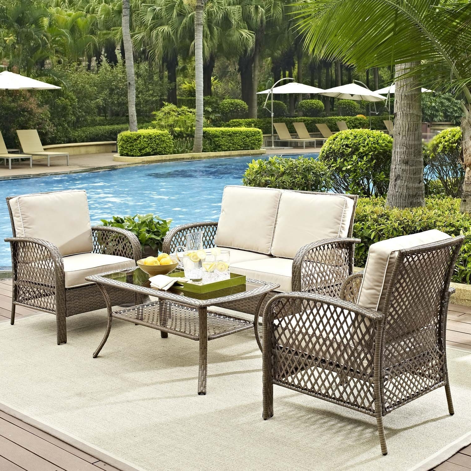 Wayfair Outdoor Patio Conversation Sets Regarding Well Known Breathtaking Wayfair Patio Furniture Sets Gallery Best Image From (View 11 of 15)