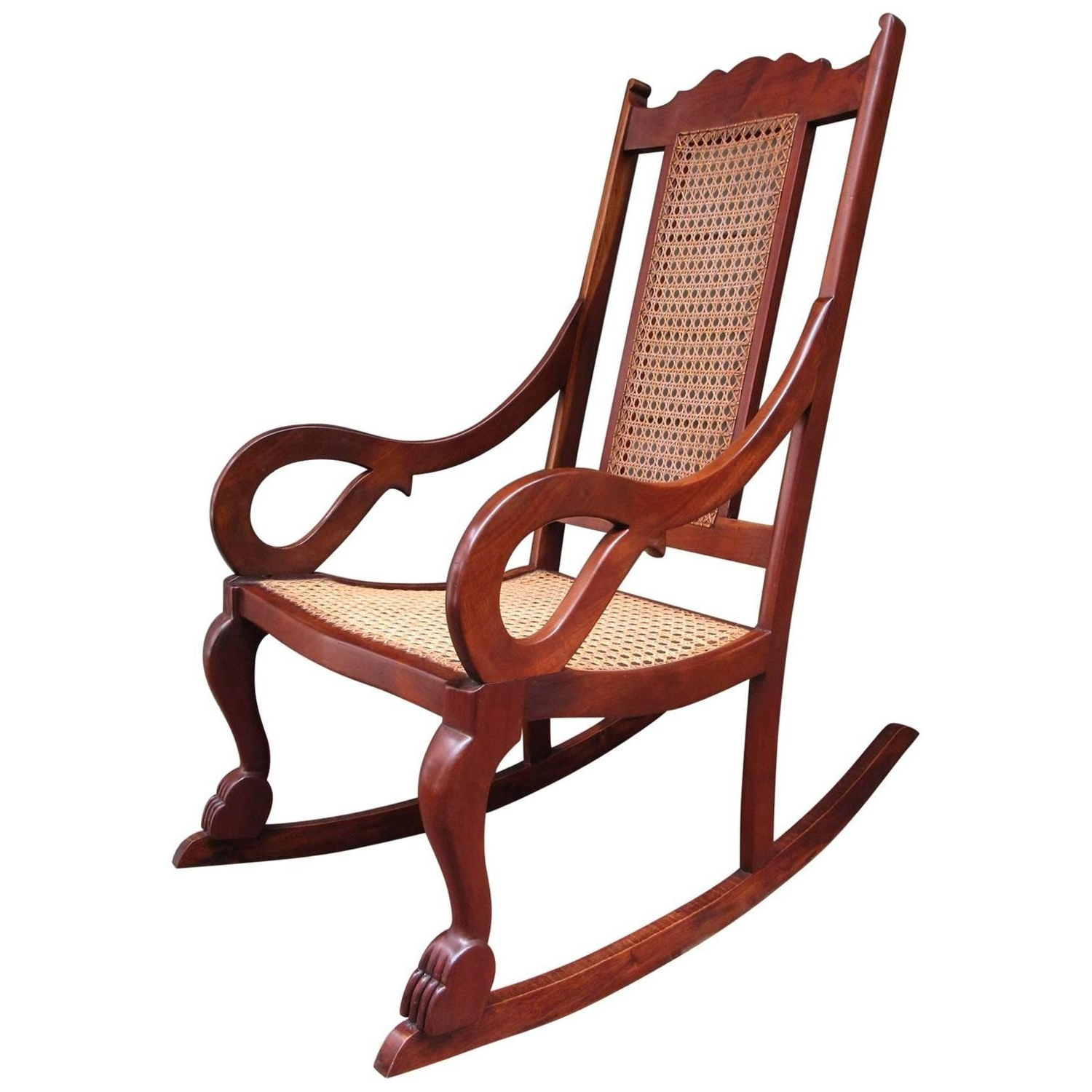 Well Known 19Th Century Rocking Chairs – 82 For Sale At 1Stdibs In Old Fashioned Rocking Chairs (View 10 of 15)