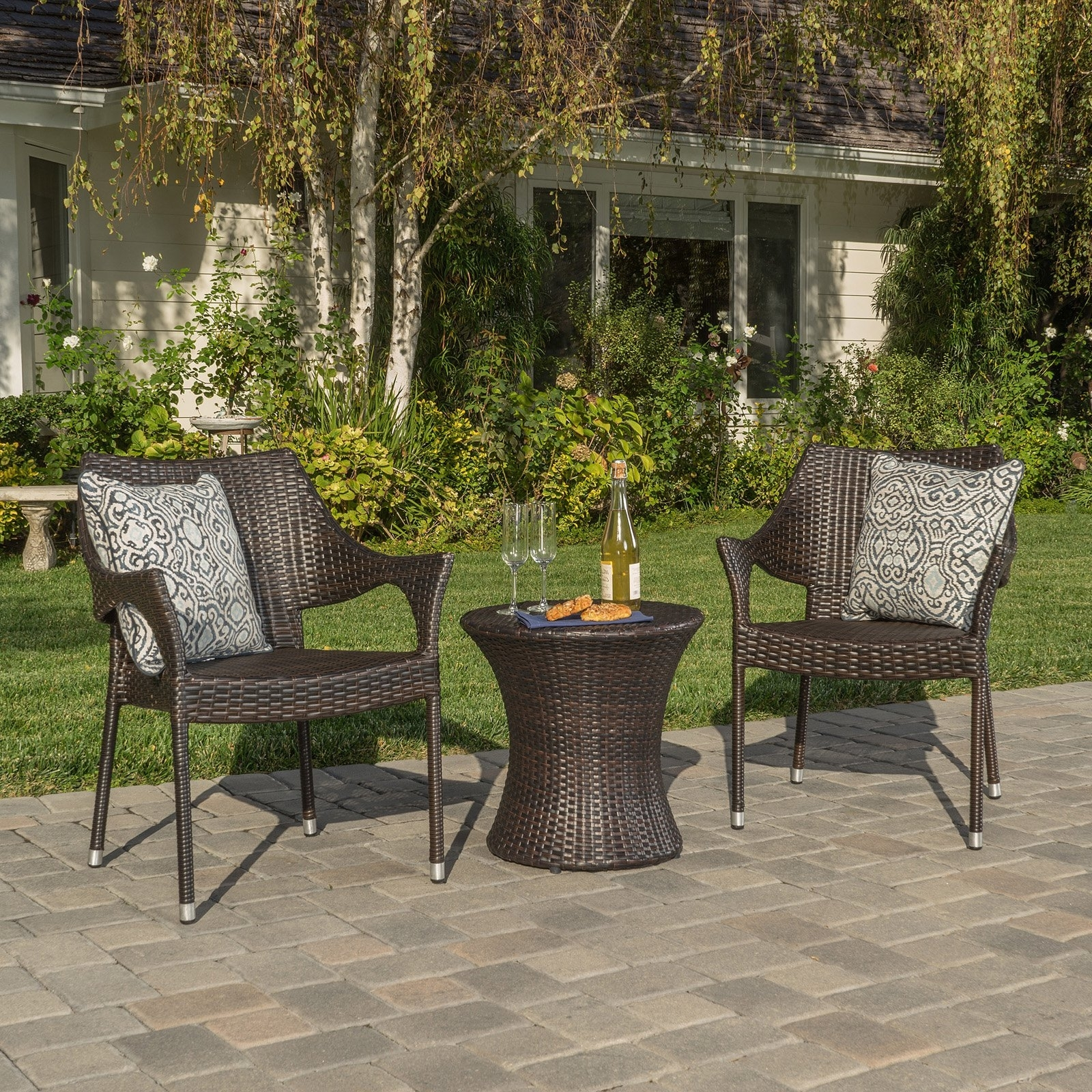 Well Known 46 Patio Conversation Sets Under 300, Patio Conversation Set 4 Piece Within Patio Conversation Sets Under $ (View 12 of 15)