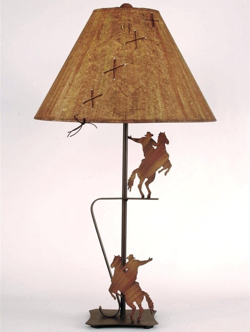 Well Known Astonishing Western Table Lamps Light Database Ideas Pic Of Style Regarding Western Table Lamps For Living Room (View 7 of 15)
