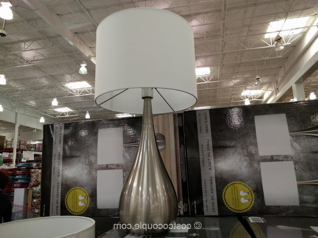 Well Known Costco Living Room Table Lamps Inside Lamp : Cheap Floor Lamps At Costco View For Sale Sold Led Desk Lamp (View 3 of 15)