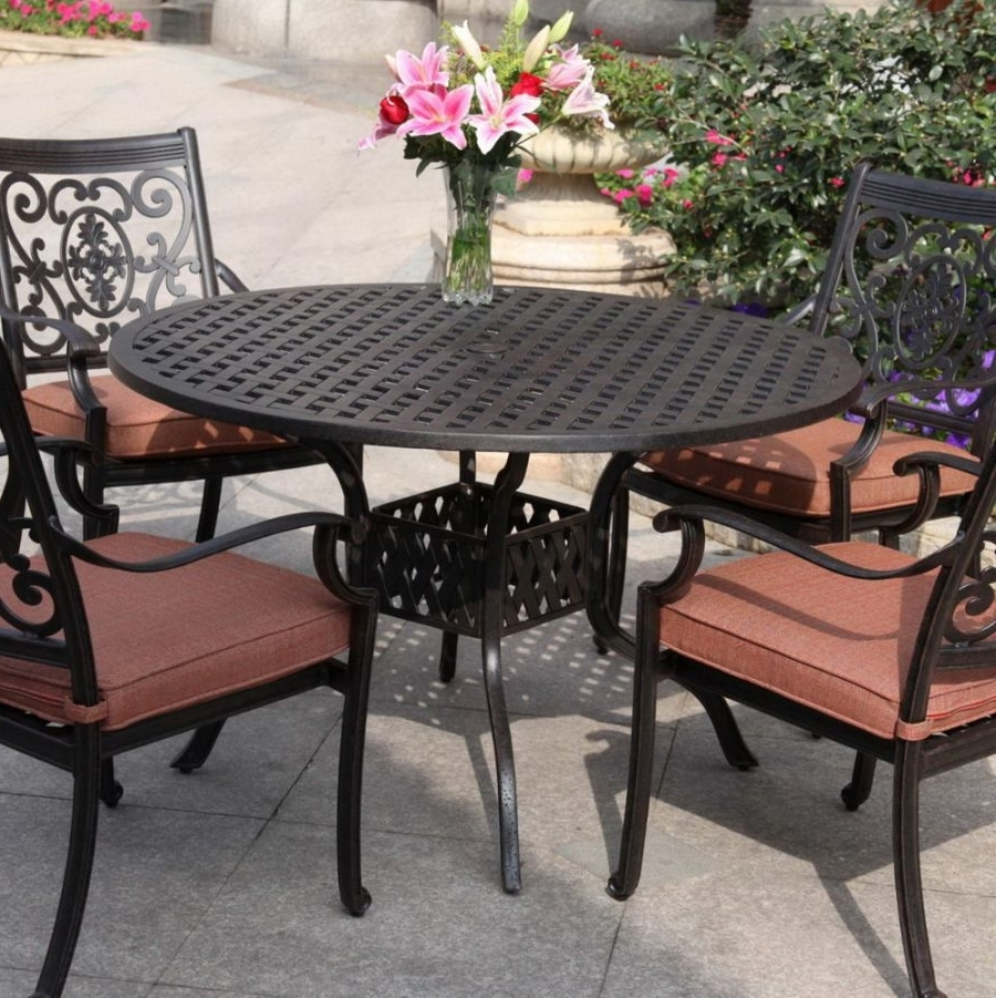 Well Known Patio Conversation Dining Sets Inside Amusing Patio Table Set Clearance 21 Mesmerizing Black Design (View 13 of 15)