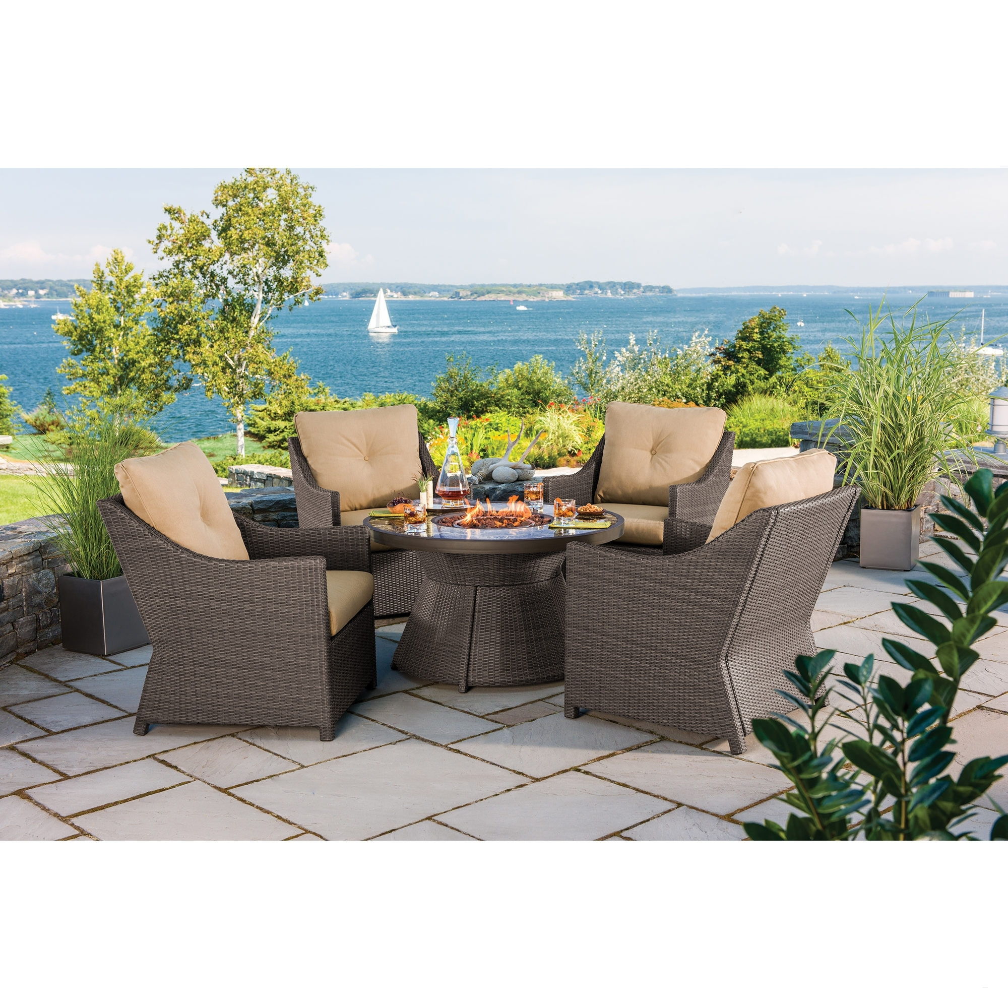 Well Known Patio Conversation Sets Under 500 Patio Furniture Walmart Outdoor Intended For Patio Conversation Sets Under $ (View 13 of 15)