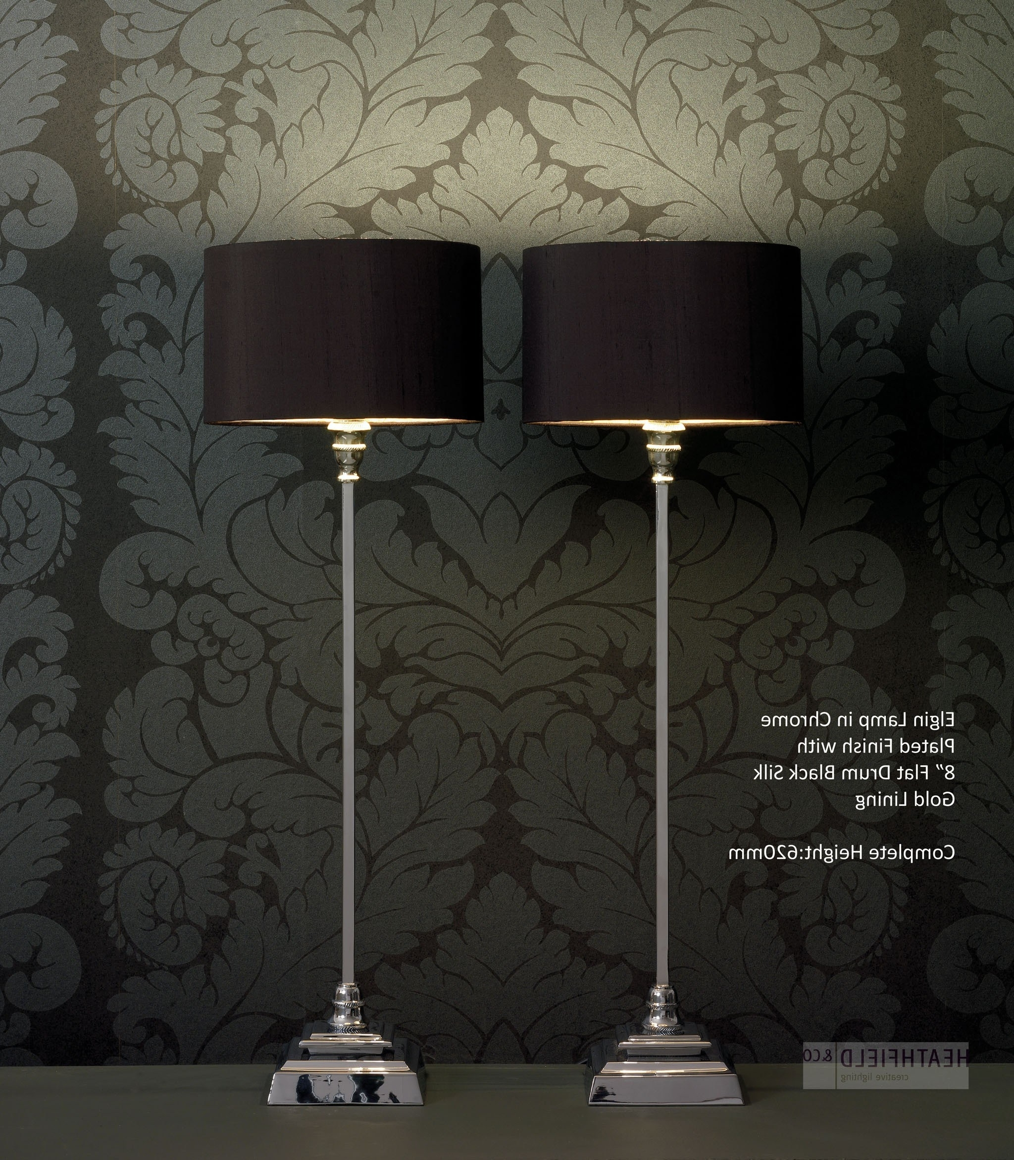 Well Known Peculiar Black Shades Tall Table Lamps Living Room Uk Design Tall Within Tall Table Lamps For Living Room (View 15 of 15)