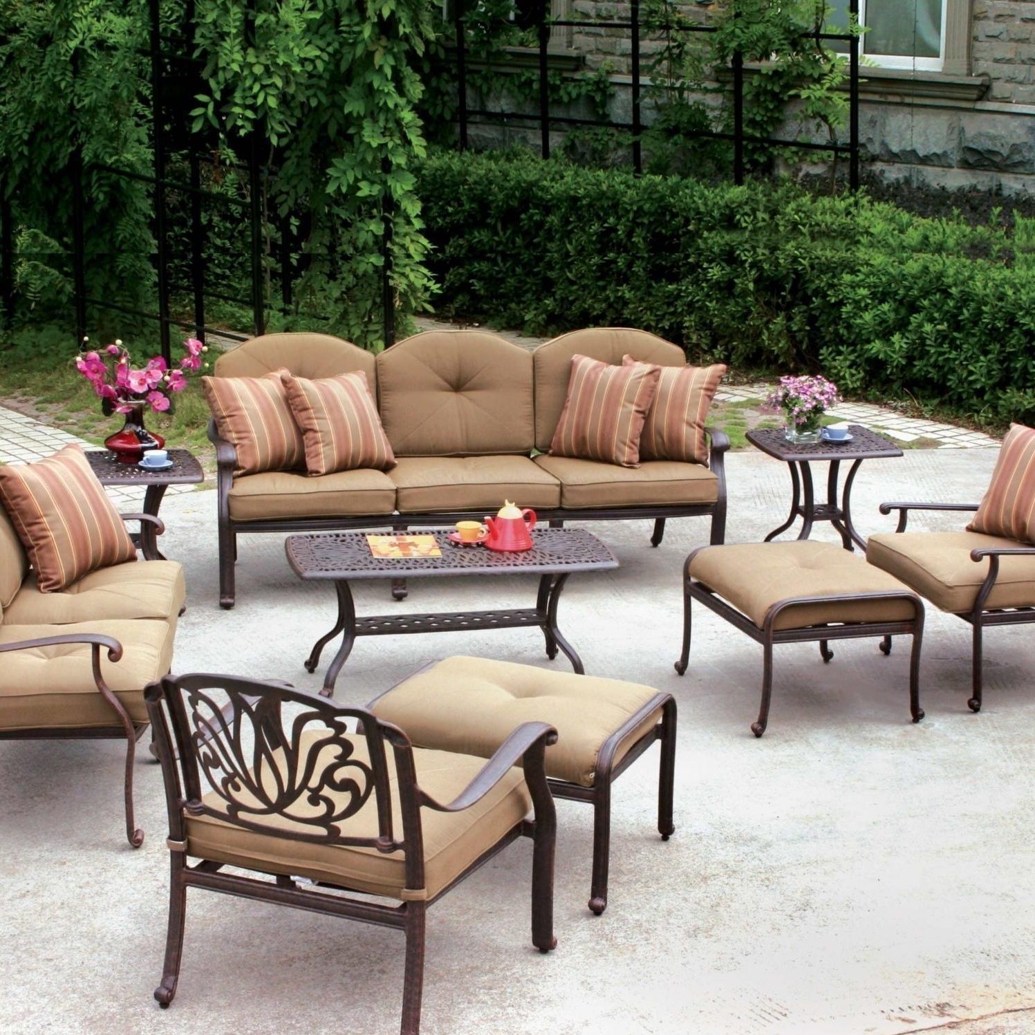 Well Known Phantasy Patio Conversation Set Is Accent Then Lawn Together With Pertaining To Patio Conversation Sets Under $ (View 14 of 15)