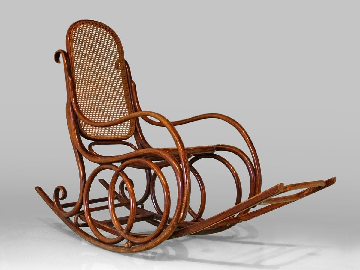 Well Known Rocking Chair – Wikipedia In Antique Wicker Rocking Chairs With Springs (View 14 of 15)