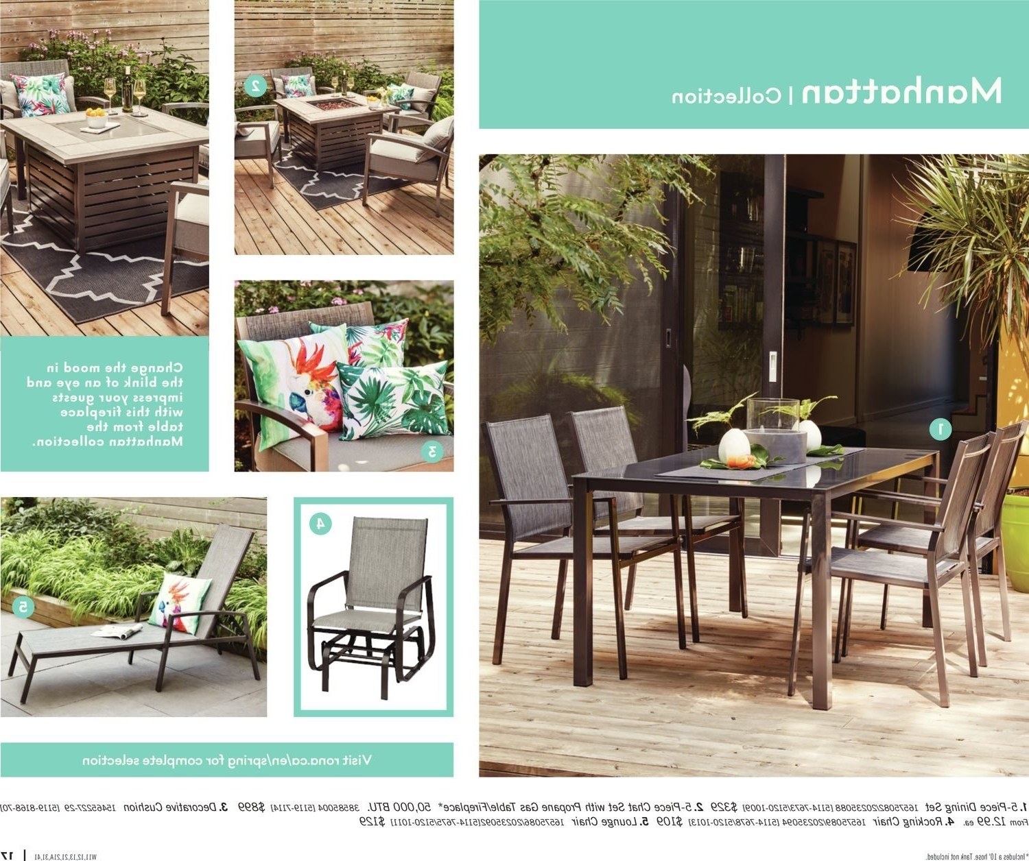 Well Known Rona Canada Outdoor Patio Furniture – Patio Designs Regarding Rona Patio Rocking Chairs (View 14 of 15)