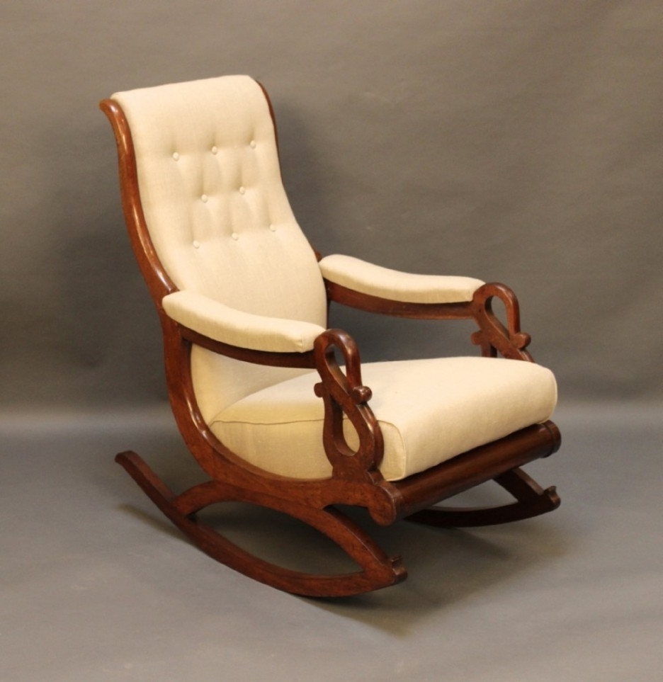 Well Known Surprising Wooden Rocking Chair Cushions About Remodel Styles Of Pertaining To Rocking Chairs With Cushions (View 12 of 15)