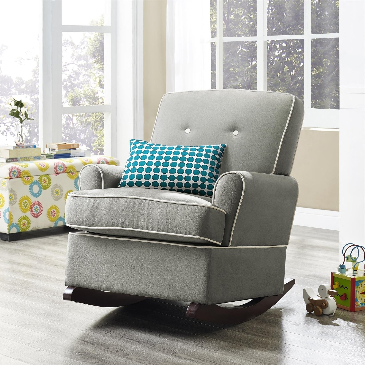 Well Known The Best Upholstered Rocking Chair (View 14 of 15)