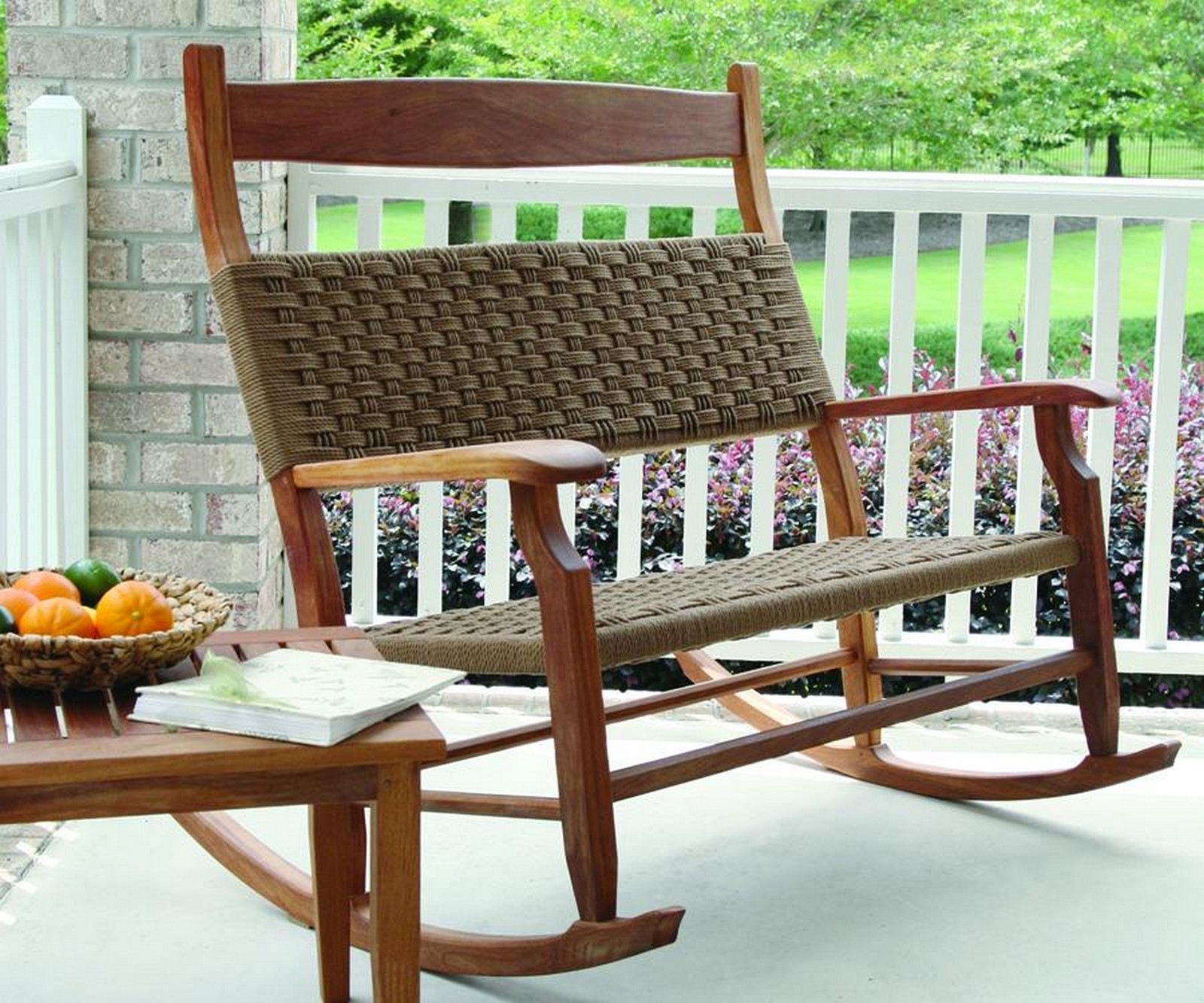 Well Known Uncategorized : Wicker Outdoor Rocking Chair In Beautiful Martha Within All Weather Patio Rocking Chairs (View 14 of 15)
