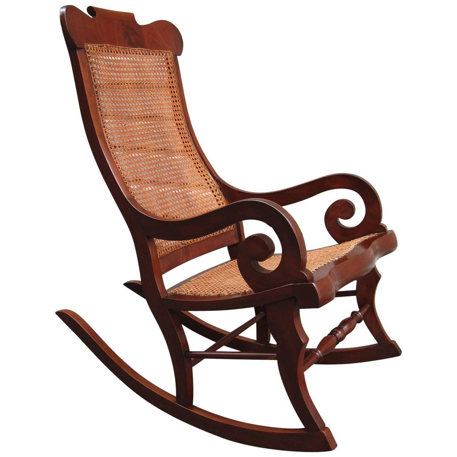 Well Liked 19Th Century Rocking Chairs – 82 For Sale At 1Stdibs Regarding Old Fashioned Rocking Chairs (View 14 of 15)