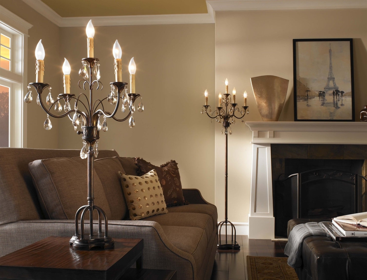 Well Liked Living Room Living Spaces Table Lamps Grey Bedside Table Lamps For Tall Living Room Table Lamps (View 10 of 15)