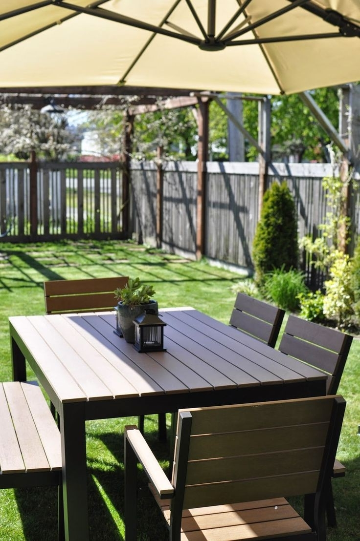Well Liked Outdoor Furniture : Enchanting Ikea Furniture Outdoor And Balcony Pertaining To Ikea Patio Conversation Sets (View 2 of 15)