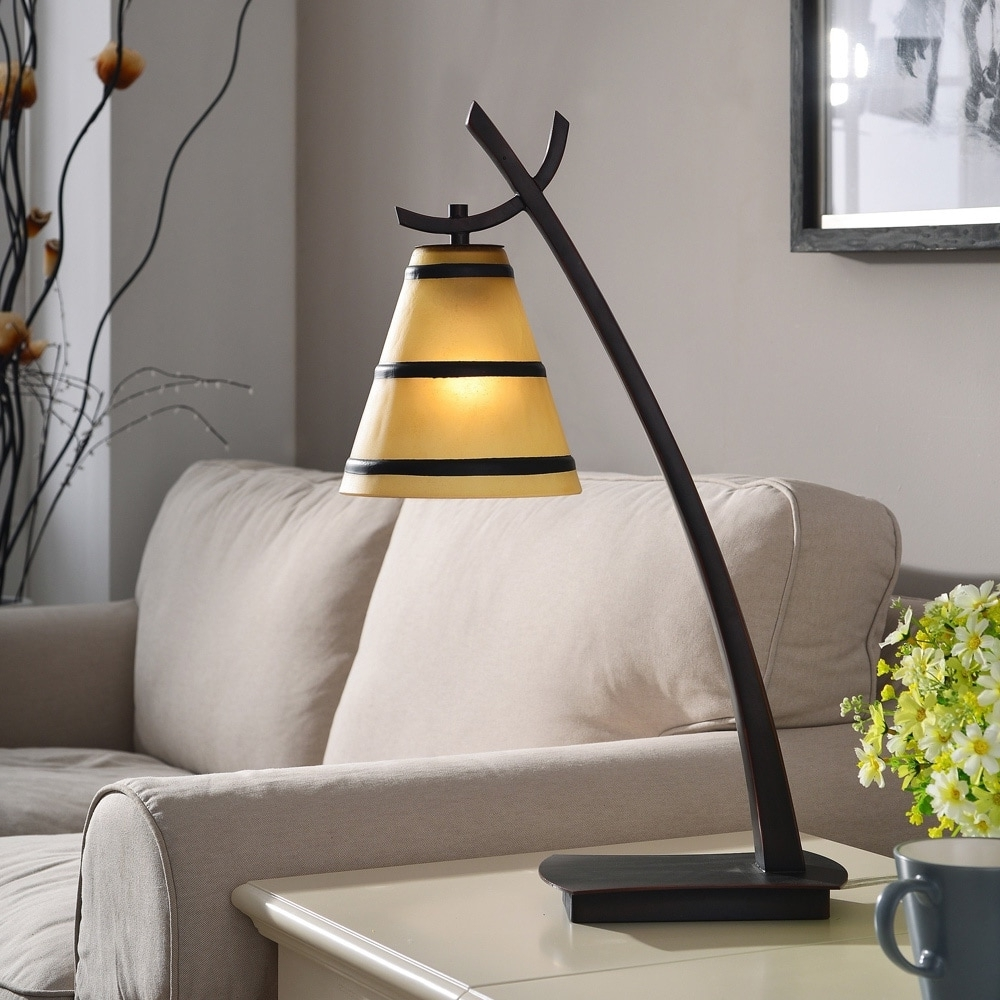 Well Liked Overstock Living Room Table Lamps For Shop Design Craft Iommi Oil Rubbed Bronze 1 Light Table Lamp – Free (View 9 of 15)