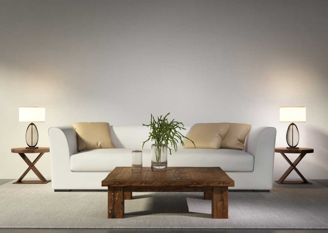 White Living Room Table Lamps Intended For Well Known Two Table Lamps For Living Room — S3Cparis Lamps Design : Cozy And (View 3 of 15)