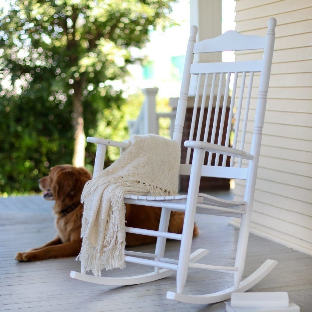 White Rocking Chair Nursery • Top9Home With Preferred Outdoor Rocking Chairs (View 14 of 15)