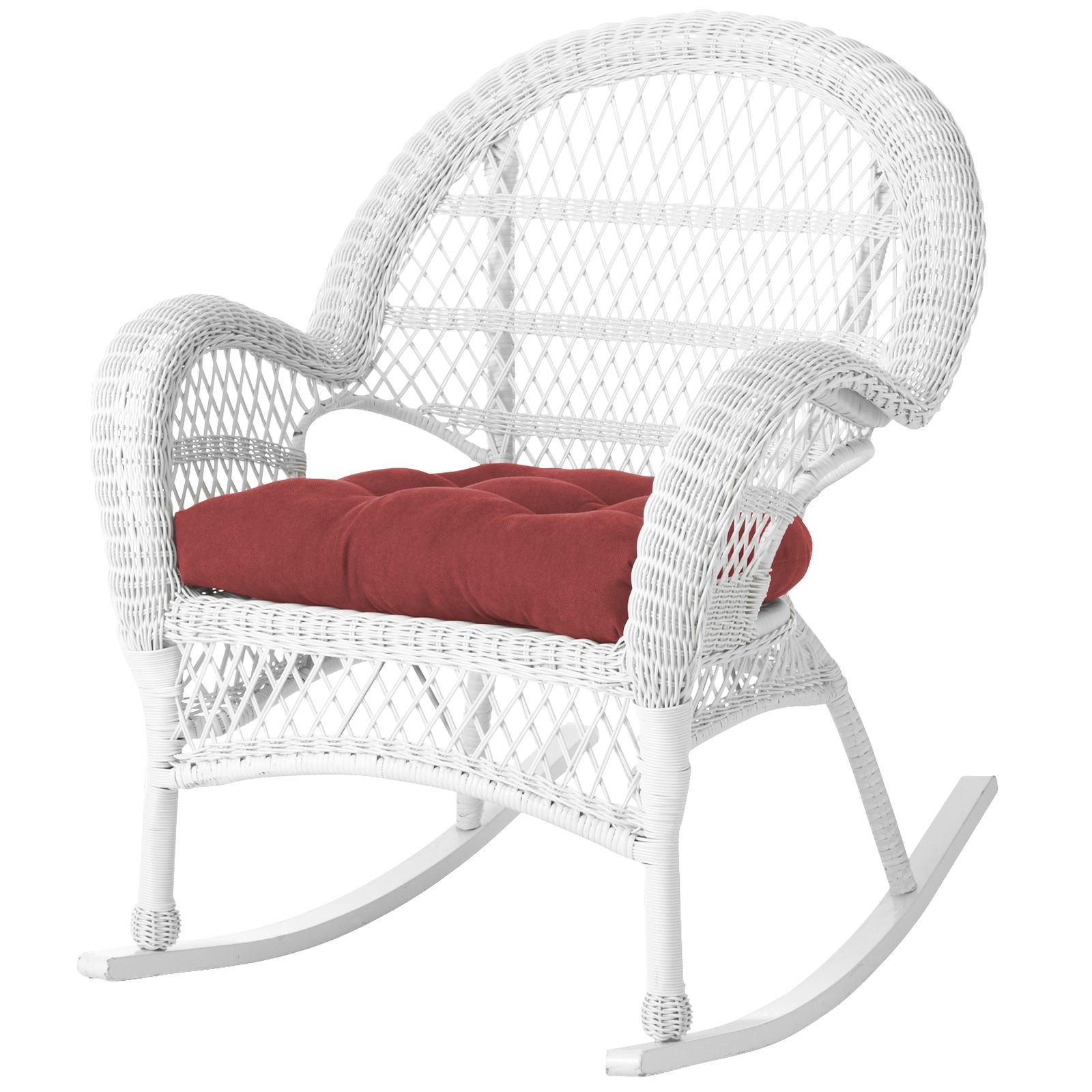 White Wicker Rocking Chairs Within Latest White Wicker Rocking Chair Peachy Ideas – Chair Ideas (View 7 of 15)