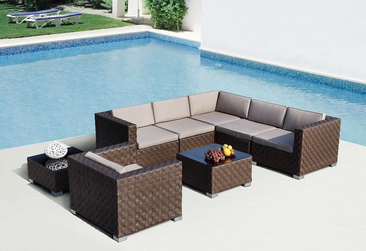Widely Used Edmonton Patio Conversation Sets With Patio & Garden : Outdoor Sectional Furniture Edmonton Sectional (View 15 of 15)