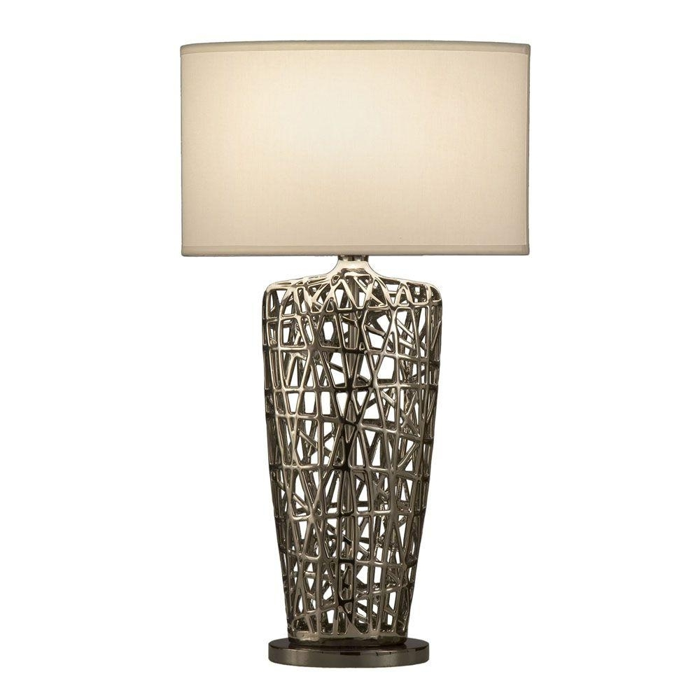Widely Used Living Room Table Lamps At Home Depot Pertaining To Nova Birds Nest Heart Table Lamp 11076 – The Home Depot (View 3 of 15)