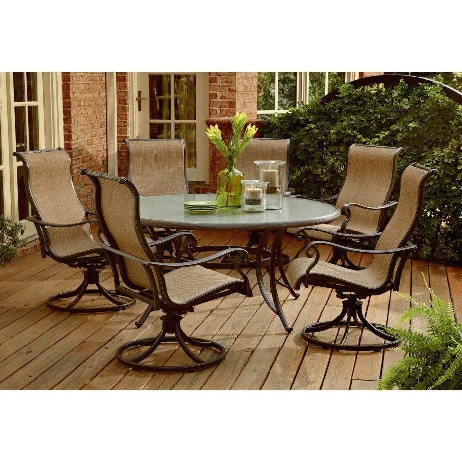 Widely Used Patio Conversation Sets With Swivel Chairs With Regard To Chair : Patio Conversation Sets With Swivel Chairs Outdoor Rocker (View 15 of 15)