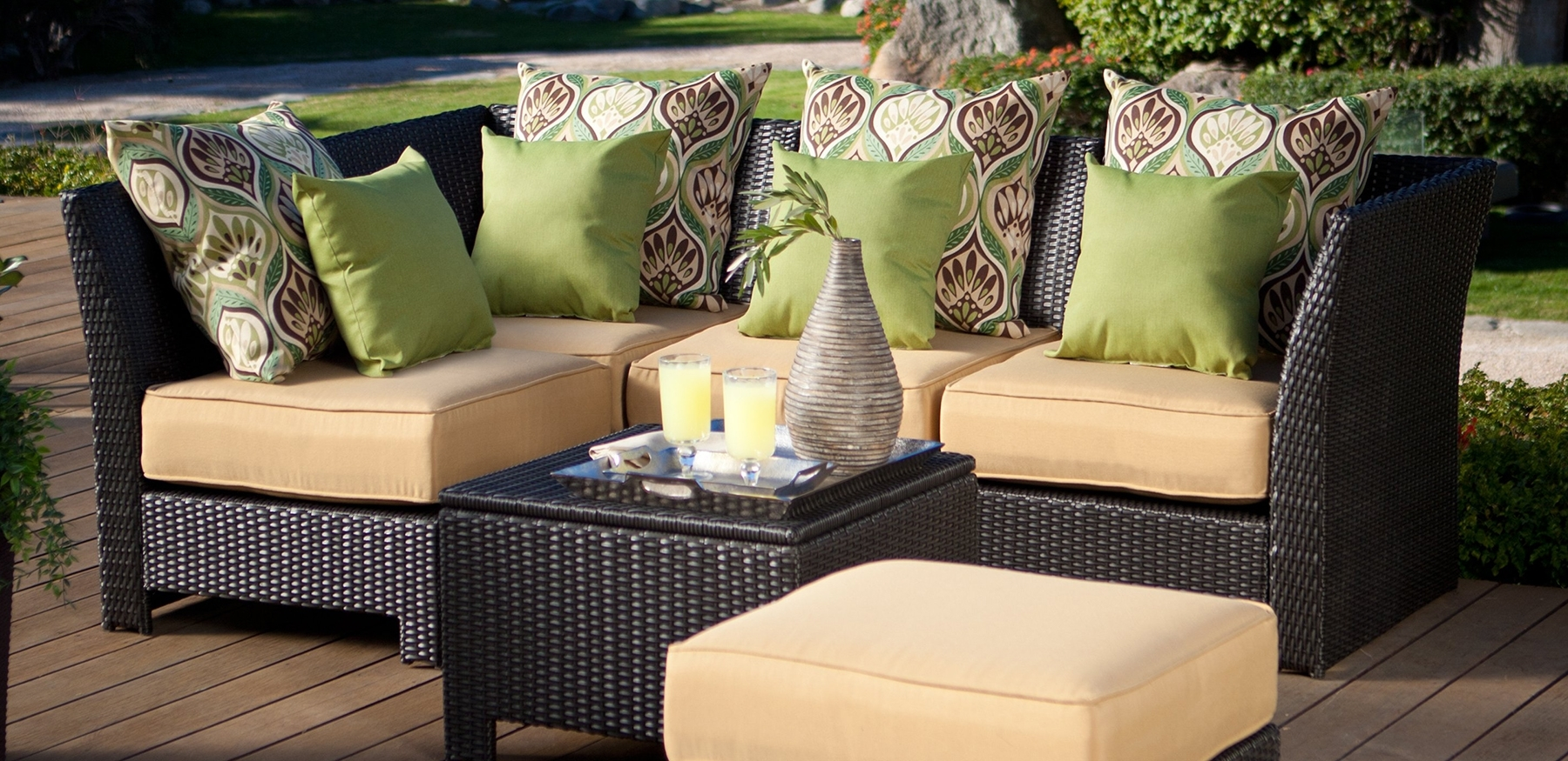 Widely Used Stylish Weaves – Kansas City Homes & Style Inside Nfm Patio Conversation Sets (View 15 of 15)