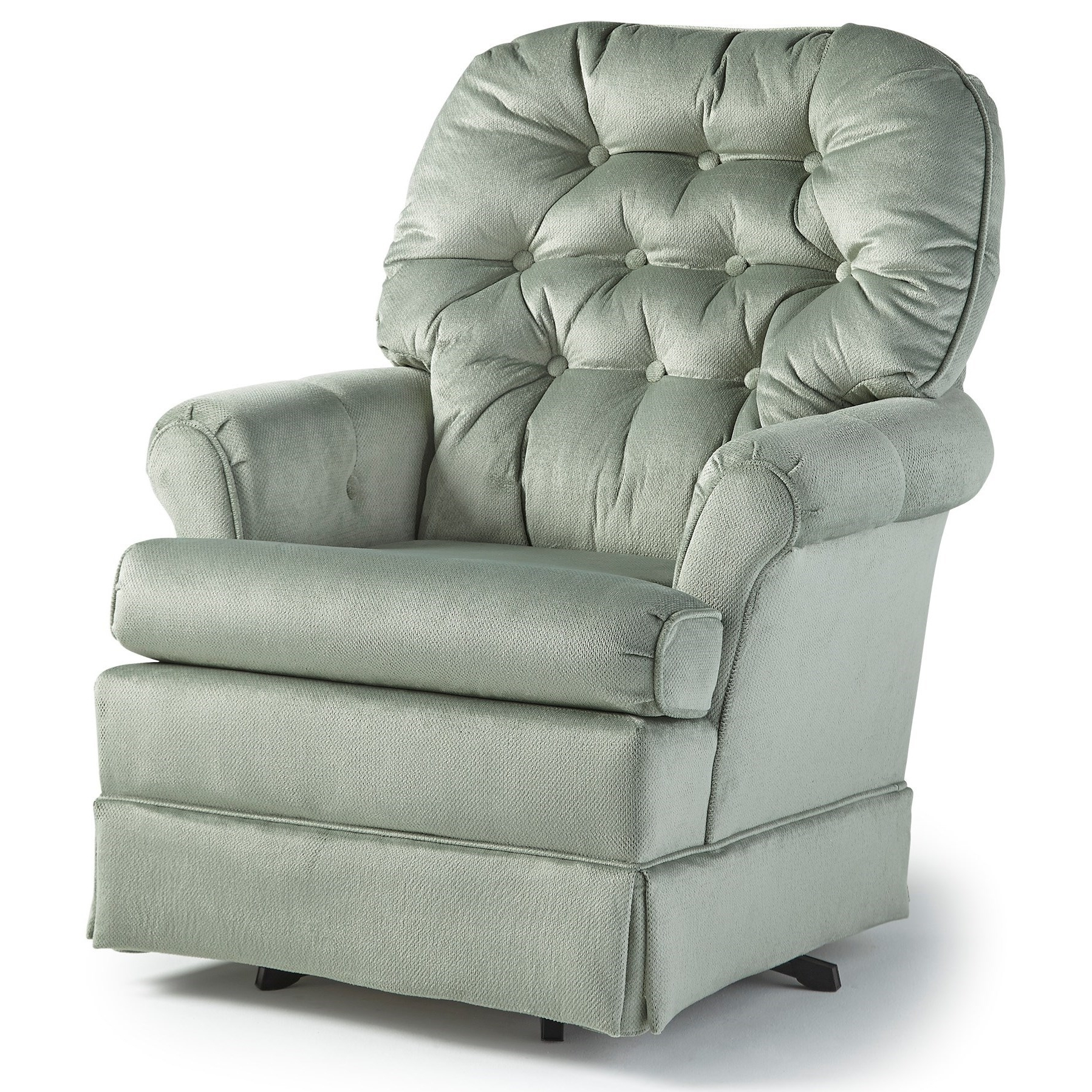 Widely Used Swivel Rocking Chairs Throughout Best Home Furnishings Swivel Glide Chairs 1559 Marla Swivel Rocker (View 5 of 15)