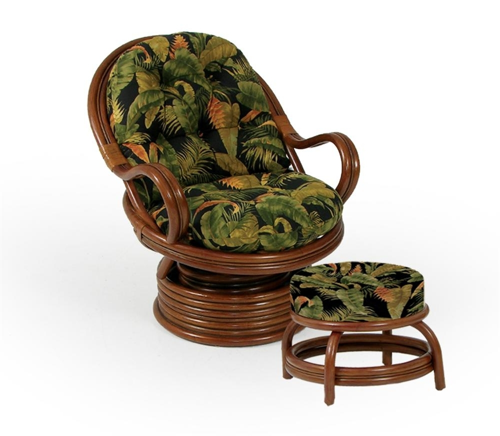 Wolf Intended For Wicker Rocking Chairs And Ottoman (View 7 of 15)