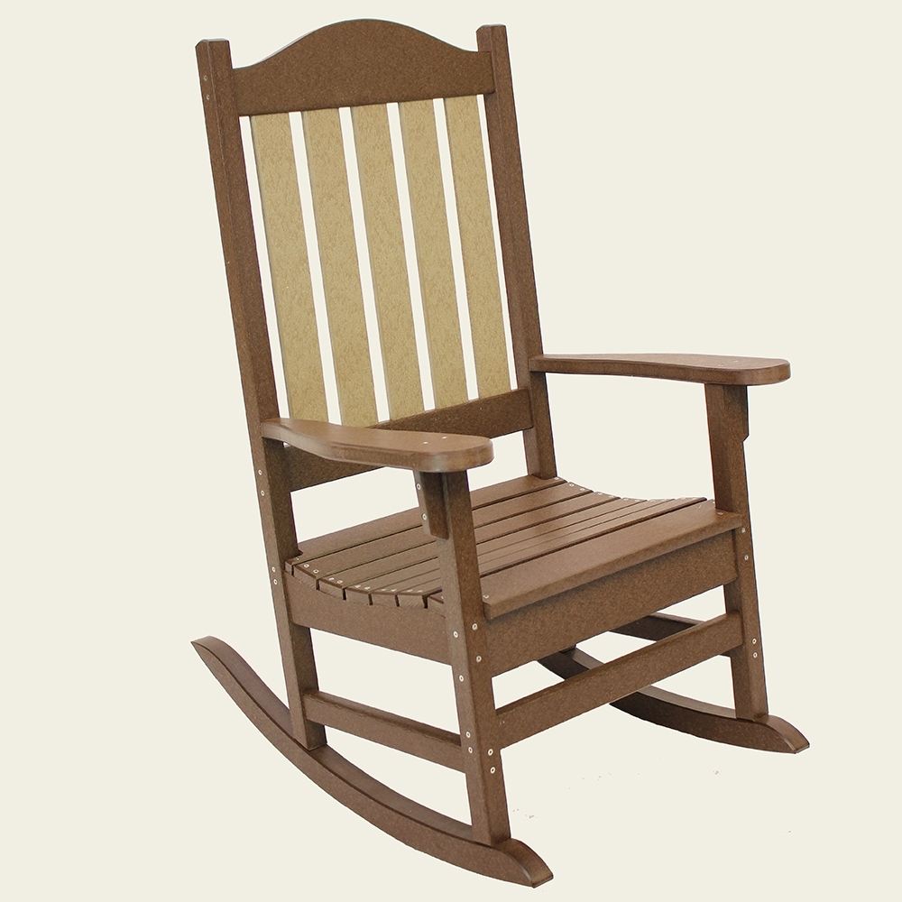 Zen Rocking Chairs Inside Popular Rockers – The Amish Craftsmen Guild Ii (View 7 of 15)