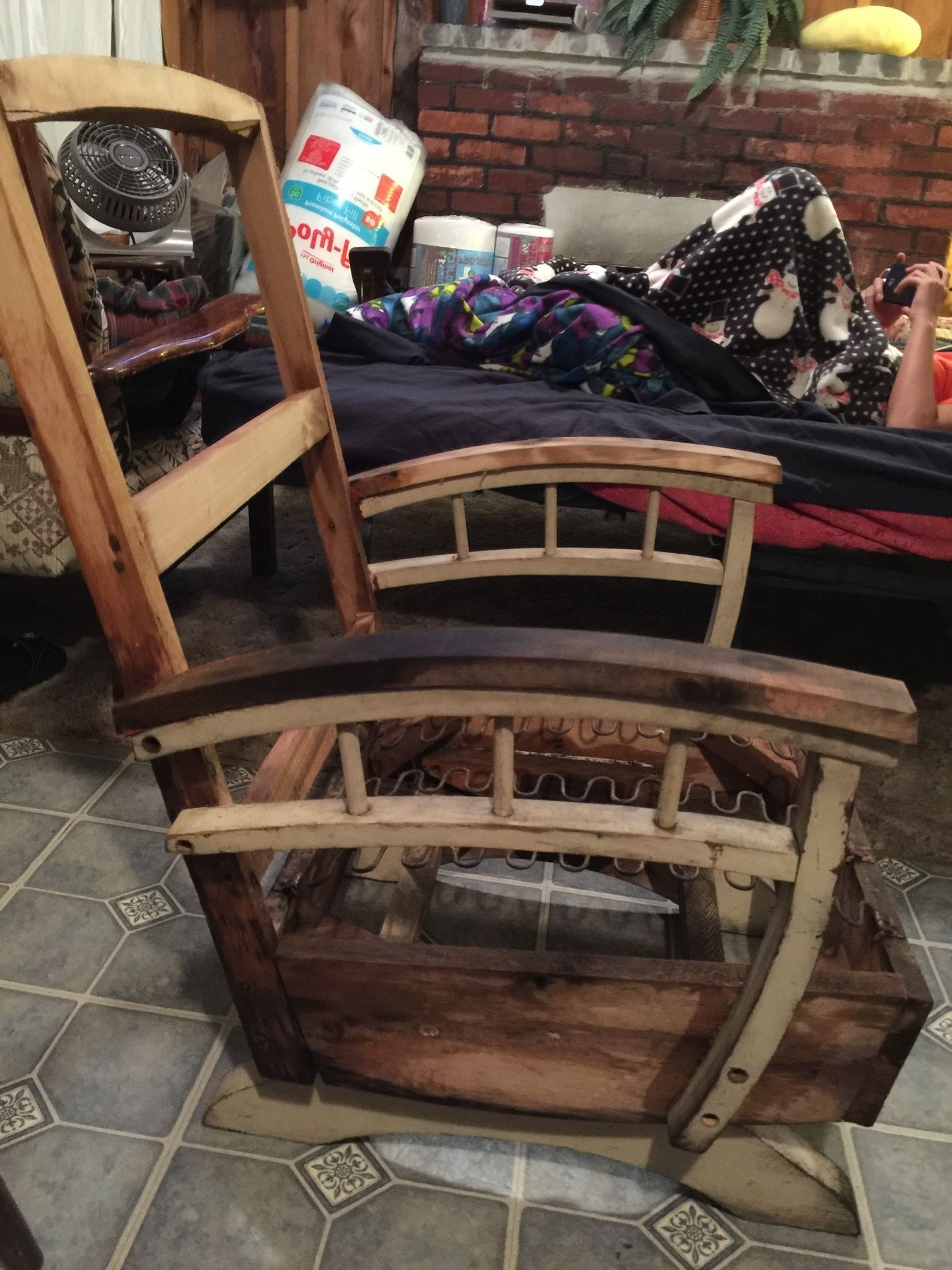 Zen Rocking Chairs With Best And Newest Naked Chair! Stripped Down To Bare Bones! On Vacation In Maine (View 11 of 15)