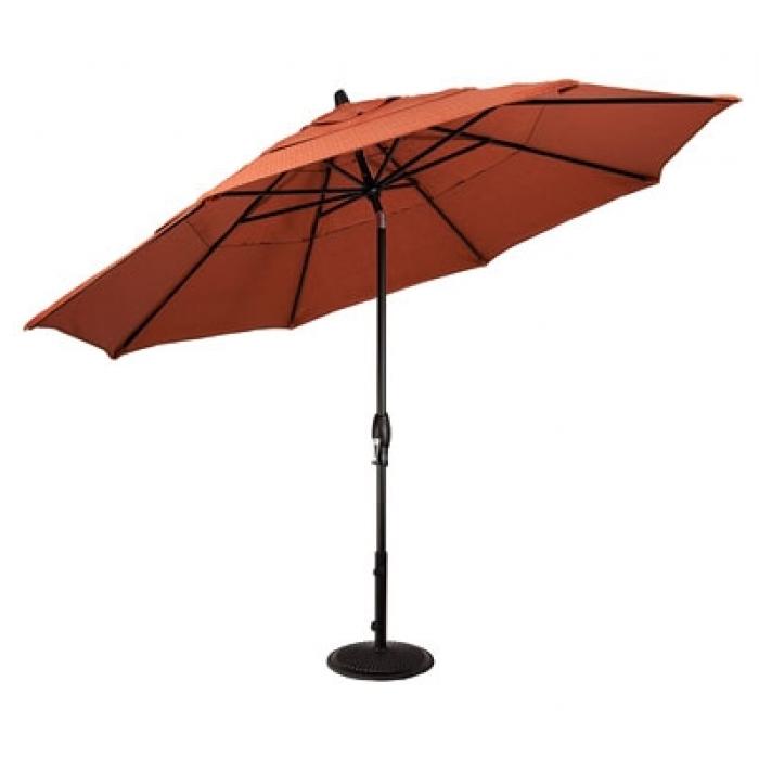 11' Auto Tilt Patio Umbrella – Umbrellas – Patio & Outdoor Living With Regard To Widely Used Krevco Patio Umbrellas (View 3 of 15)