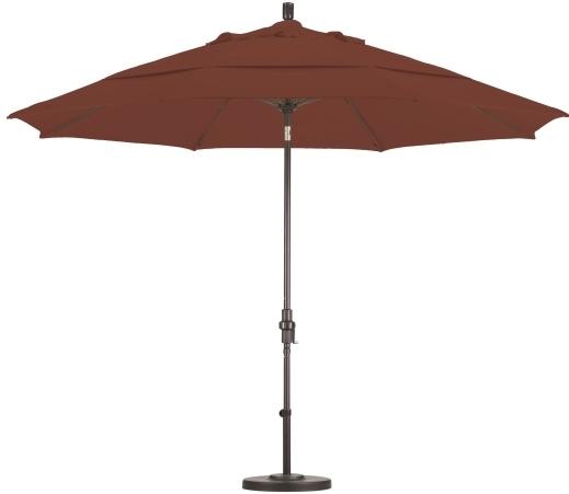 11 Foot Patio Umbrella Throughout Most Current Custom Sunbrella Patio Umbrellas (Gallery 10 of 15)