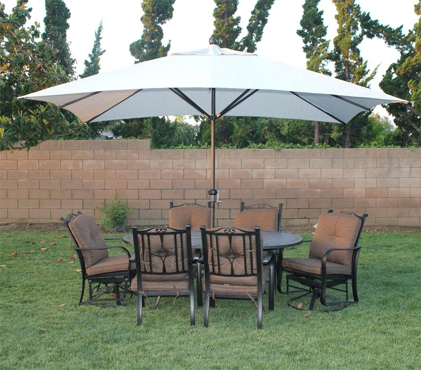 11 Foot Patio Umbrellas In Most Up To Date Fresh Patio Umbrella 11 Ft For Image Of Foot Rectangular Patio (View 6 of 15)