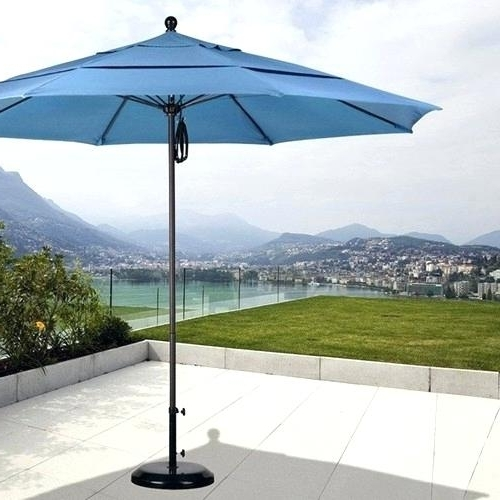 11 Foot Patio Umbrellas With Regard To Well Known 11 Ft Patio Umbrella – Patio Furniture (View 12 of 15)