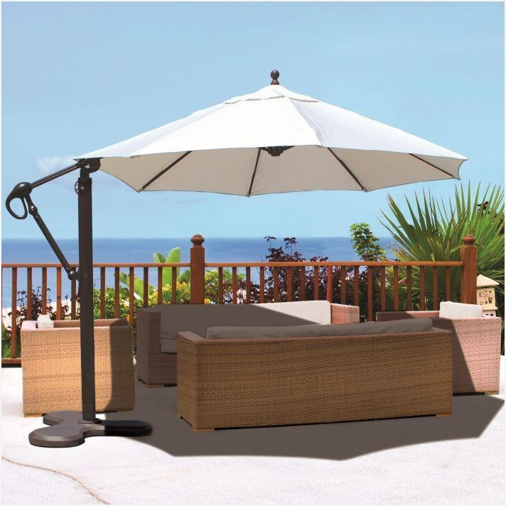 11 Ft Offset Patio Umbrella As Your Reference » Elysee Magazine With Regard To Well Liked 11 Ft Patio Umbrellas (Gallery 11 of 15)