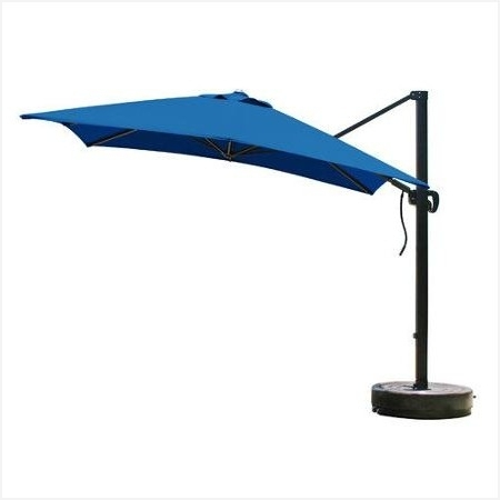11Ft Patio Umbrella » Warm Buy 8 Foot Square Cantilever Umbrella With Regard To Well Known Vented Patio Umbrellas (View 8 of 15)