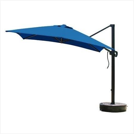 11Ft Patio Umbrella » Warm Buy 8 Foot Square Cantilever Umbrella With Regard To Well Known Vented Patio Umbrellas (Gallery 8 of 15)