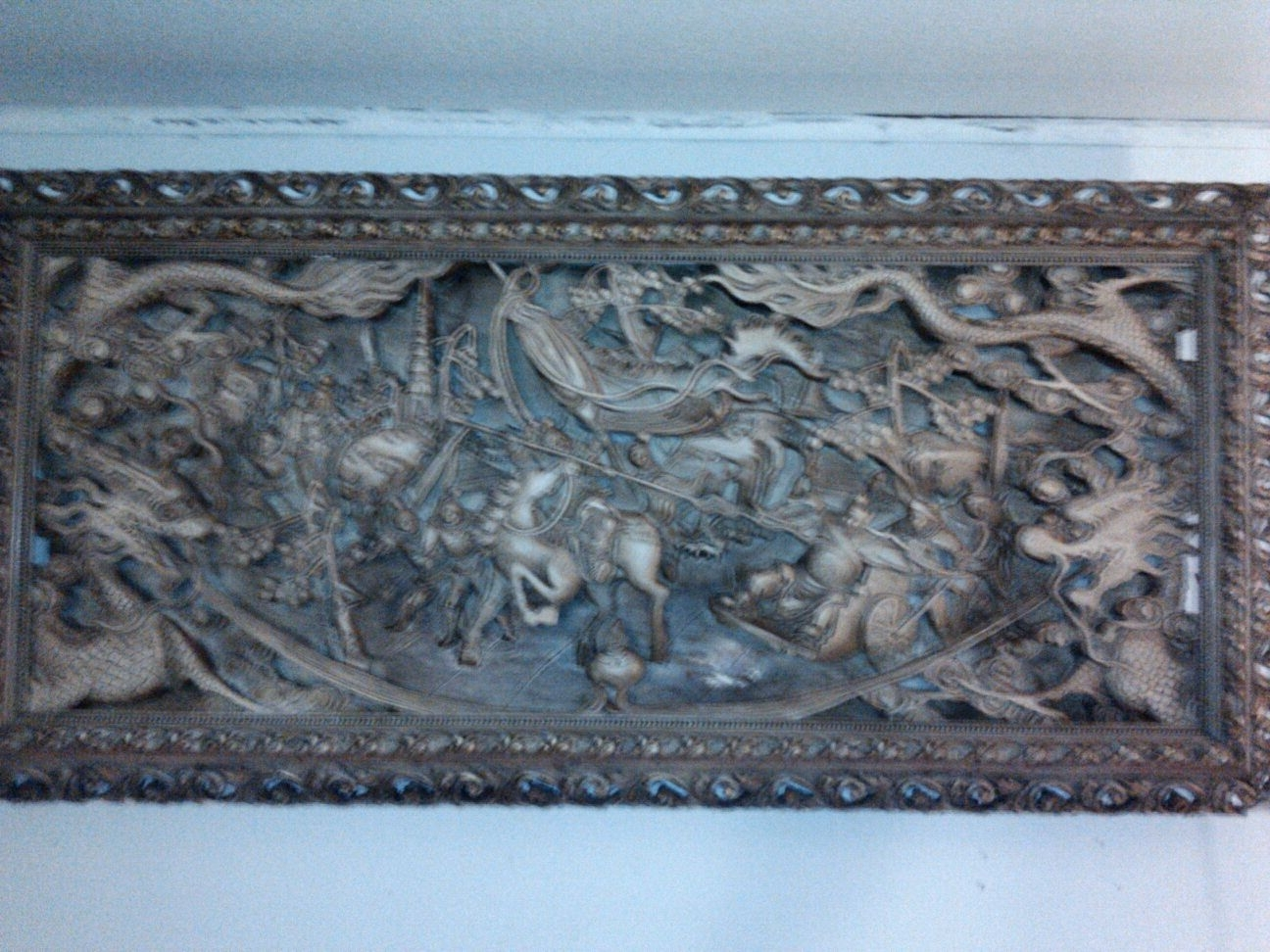1948 Chinese Wood Carved Wall Art (View 1 of 15)