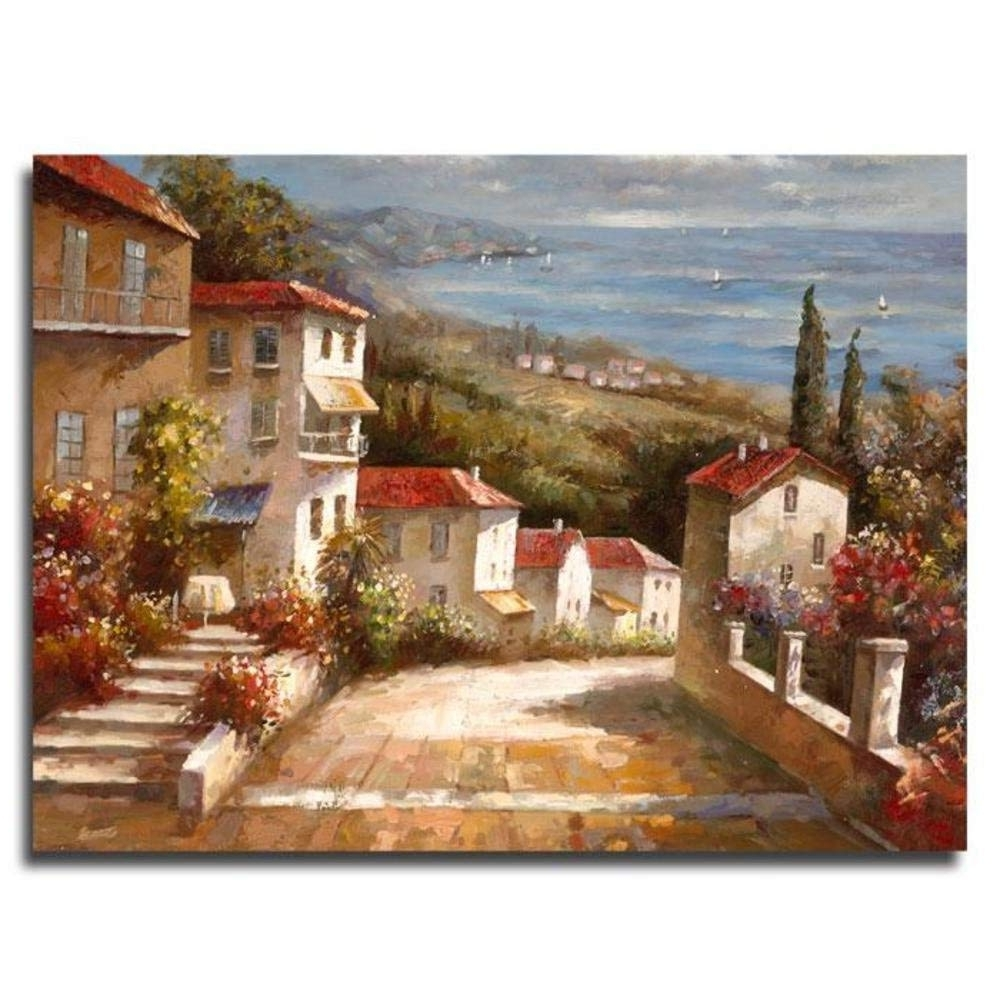 """2017 Amazon: Trademark Art """"home In Tuscany"""" Canvas Artjoval With Tuscan Wall Art (View 8 of 15)"""