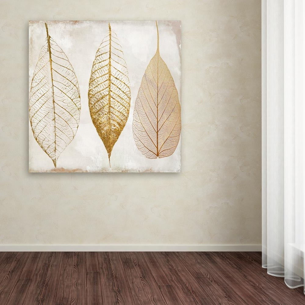 2017 Canvas Wall Art With Trademark Fine Art 35 In. X 35 In (View 1 of 15)